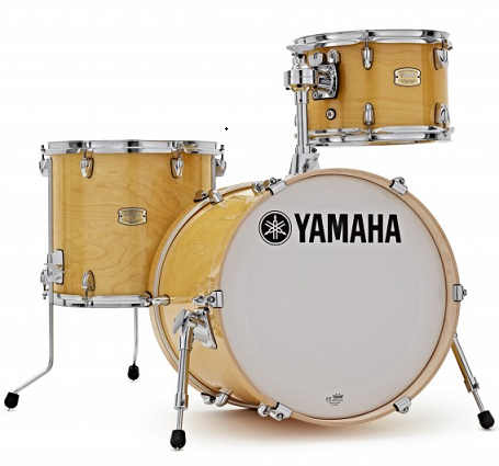 "МУЗЫКАЛЬНЫЕ ИНСТРУМЕНТЫ YAMAHA SBP8F3 Stage Custom Bop kit (Natural Wood) ударная установка BD 18""x15"" / FT 14""x13"" / TT 12""x8"" / CL945LB"